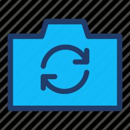 camera, photography, swap icon