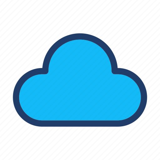 cloud, cloudy, storage, weather icon