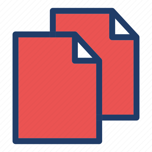 copy, duplicate, paste icon