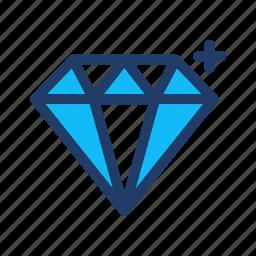 diamond, gem, gemstone, jewel, jewelry, treasure icon