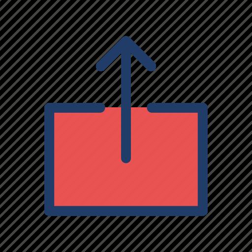 export, storage, upload icon