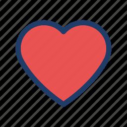 favorite, heart, love, romance, valentine icon
