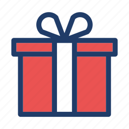 birthday, celebration, christmas, gift, party icon