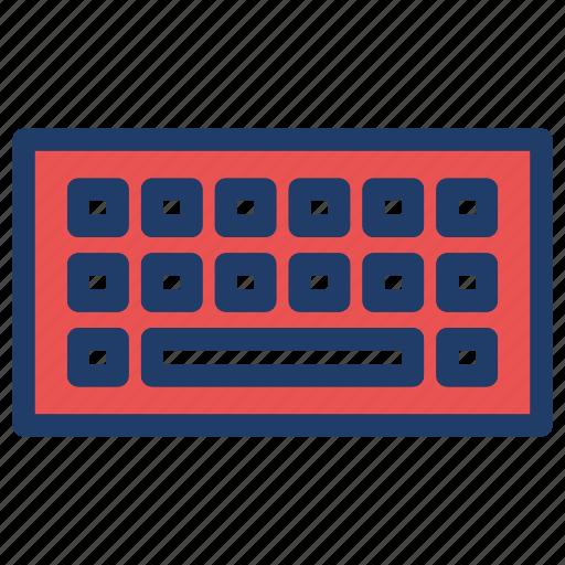 computer, keyboard, keys icon