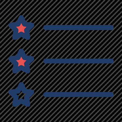 List, star, checklist, favorite icon - Download on Iconfinder