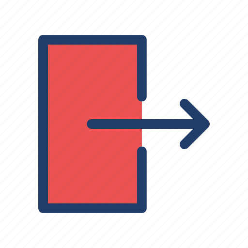 Exit, logout, close, out icon - Download on Iconfinder