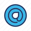 email, mail, sign icon