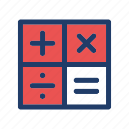 accounting, calculate, calculator, math, mathematics icon