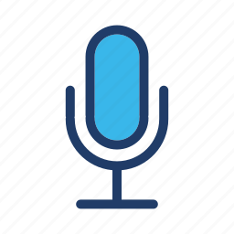 mic, microphone, speaker, voice icon