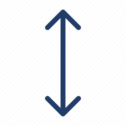 Arrow, distance, down, move, up icon - Download on Iconfinder
