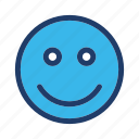 emoticon, expression, face, happy, smiley icon