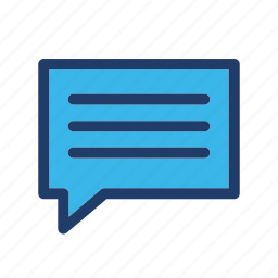 bubble, email, feedback, message icon