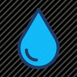 drop, oil, sea, water icon
