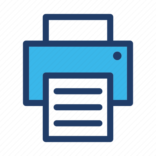 copier, print, printer icon