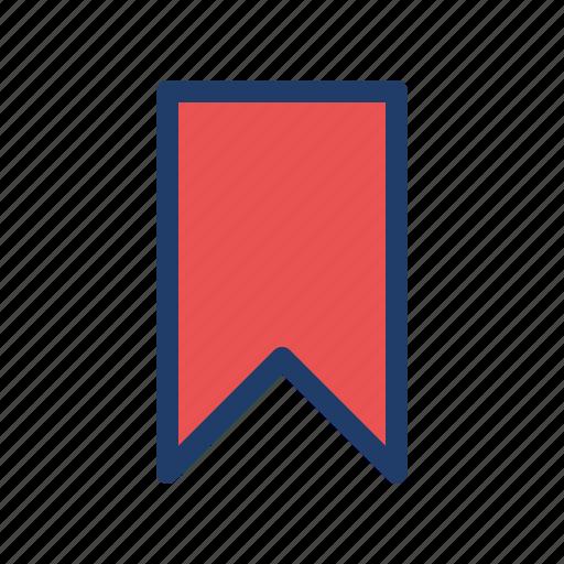 achievement, badge, bookmark, ribbon icon