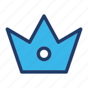 best, crown, king, prize, reward, royality, winner icon