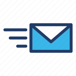 envelope, inbox, message, send icon