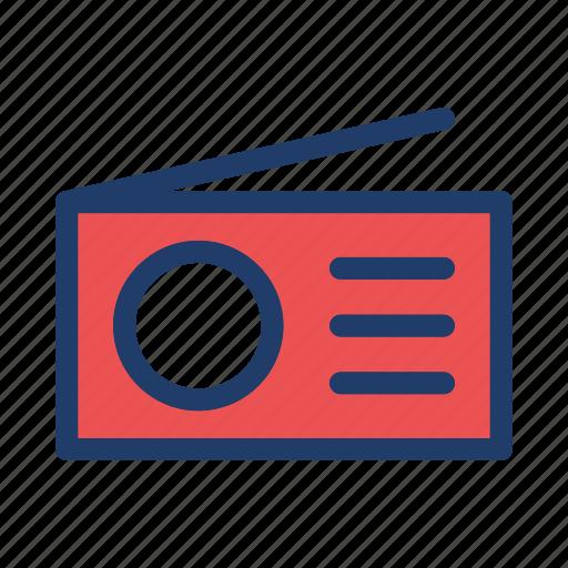 am, fm, radio, signal, technology icon