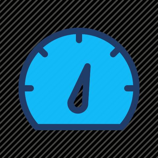 gauge, measure, optimization, performance, seo, speed icon
