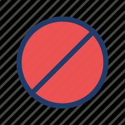 block, close, control, stop icon