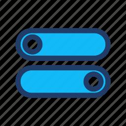 control, options, settings, toggle icon