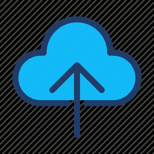 backup, cloud, cloudy, database, storage, upload icon