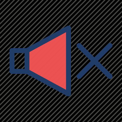 mute, silent, sound, volume icon