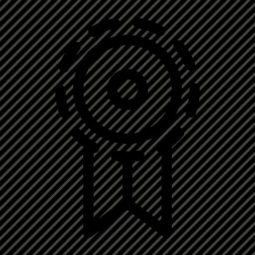 badge, label, prize, reward, ribbon icon