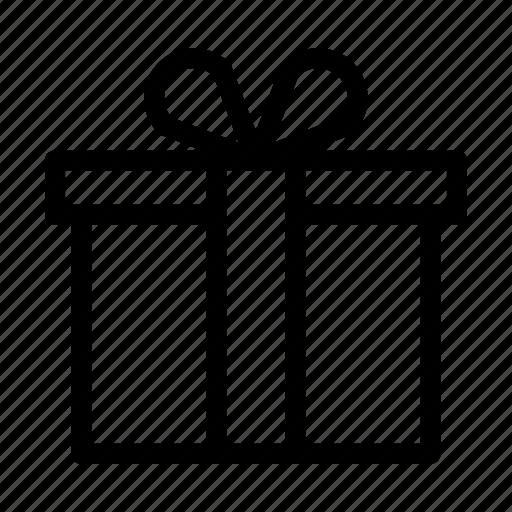 birthday, box, celebration, christmas, gift, party, ribbon icon