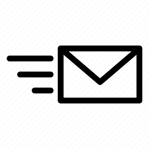 envelope, inbox, letter, mail, message, send icon