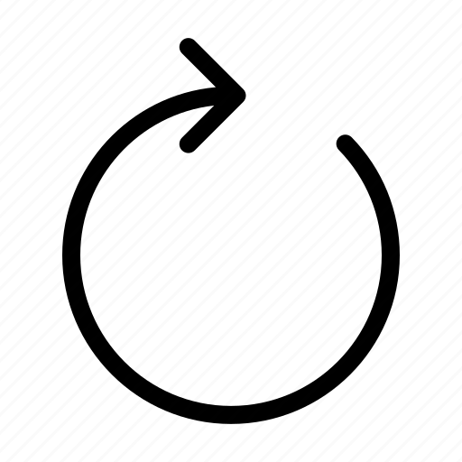 loading, refresh, renew, retate, rotation, sync icon