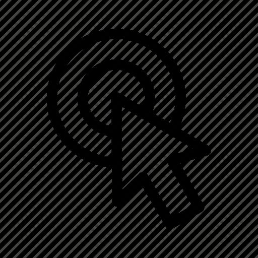 arrow, clicking, cursor, mose icon