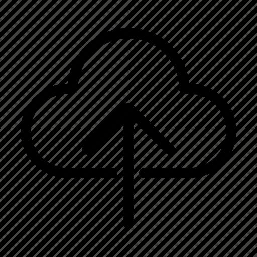 backup, cloud, database, storage, upload icon