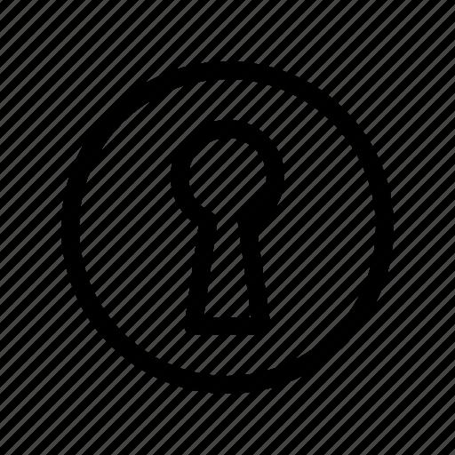 access, door, key, lock, open icon