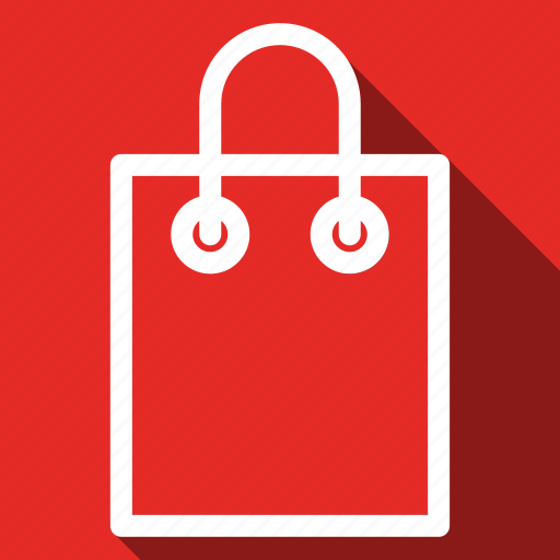 Bag, long shadow icon - Download on Iconfinder on Iconfinder