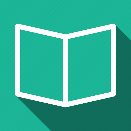 Book, long shadow icon - Download on Iconfinder