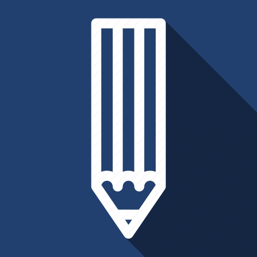 Draw, design, drawing, graphic, pencil, long shadow icon - Download on Iconfinder