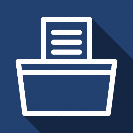 Fax, long shadow icon - Download on Iconfinder on Iconfinder