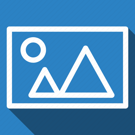 Image, landscape, photo, picture, long shadow icon - Download on Iconfinder