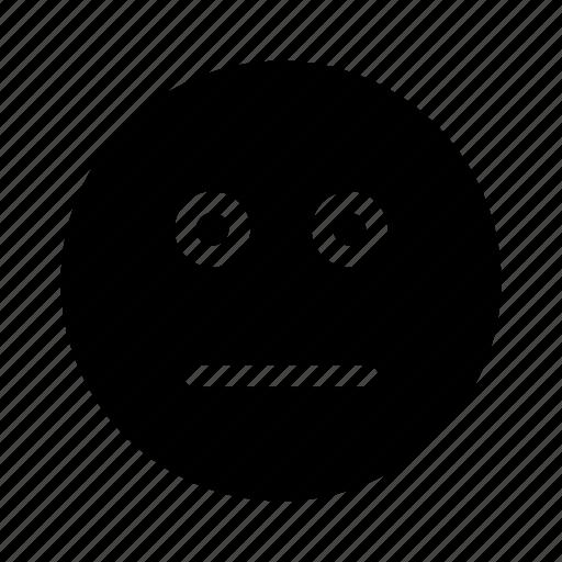 boring, emoticon, emoticons, expression, face, smiley icon