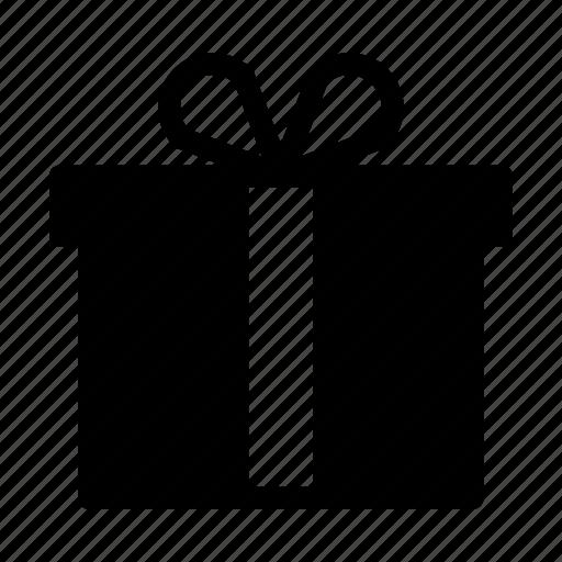 birthday, box, christmas, gift, party, ribbon icon