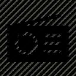 am, fm, radio, signal icon