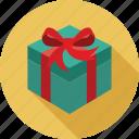 christmas, gift icon