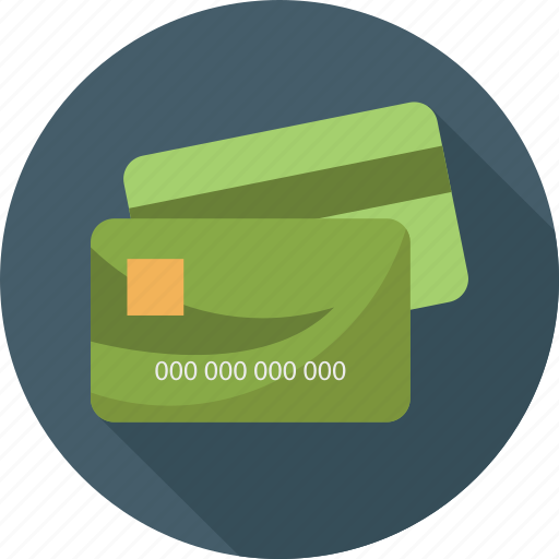 cards, electronic money, money icon