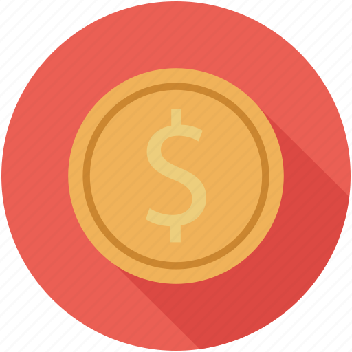coins, currency, dollars, penny icon