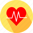 health, healthy, heart, heartbeat icon