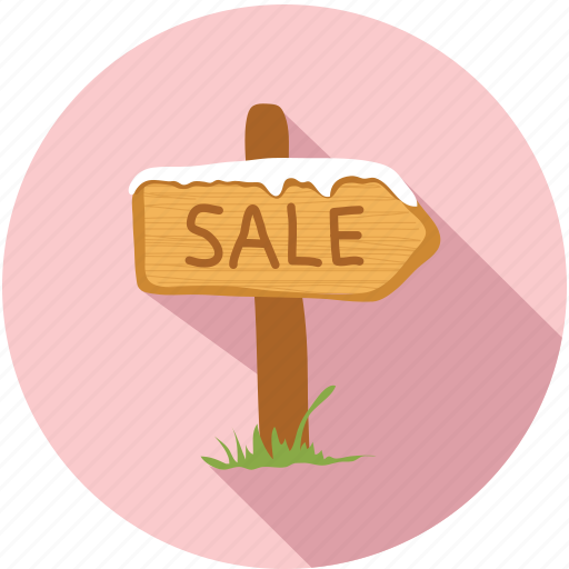 house, sale, winter icon