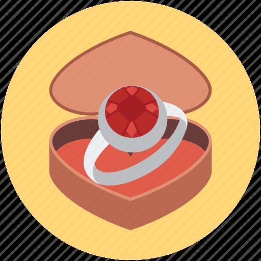 anniversary, chocolate, love, ring icon