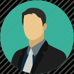 businessman, guys, men, suit icon