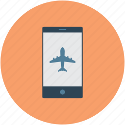 booking, mobile, travel icon